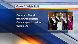 Experience an enchanted evening with Make-A-Wish Michigan and Seth Meyers at Wish Ball 2017 - Video