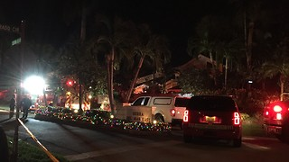 Boca Raton house fire under control - Video