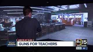 Valley teachers test school shooting simulation - Video