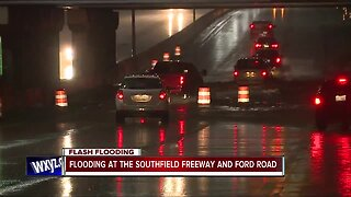 Flooding across metro Detroit closes several roads, highways