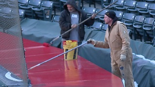 Progressive Field preps two weeks from opening day - Video