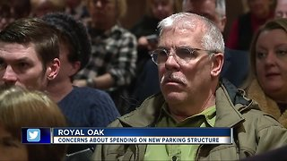 Concerns about spending on new parking structure