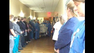 Wisconsin Hospital Pays Tribute to Organ Donor With 'Honor Walk'