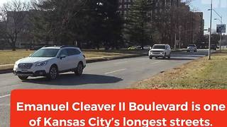 The history behind emanuel Cleaver II Boulevard - Video