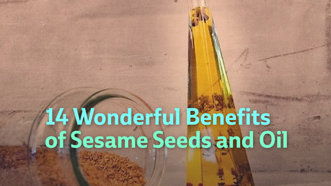 14 Wonderful Benefits of Sesame Seeds and Oil