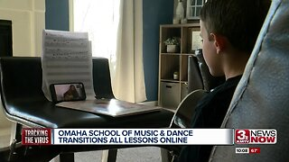 Omaha School of Music & Dance transitions all lessons online