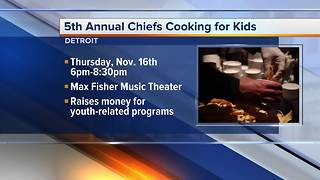 Chiefs Cooking For Kids - Video