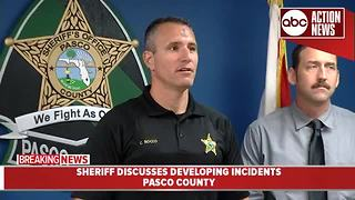 Pasco County man arrested after deputies find juvenile chained up in garage - Video