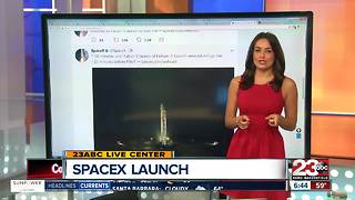 SpaceX launches rocket on Monday from Vandenberg air force base - Video