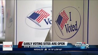 Early voting locations open in Pima County - Video