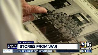 Marine veterans gather in Scottsdale to remember times during World War II - Video