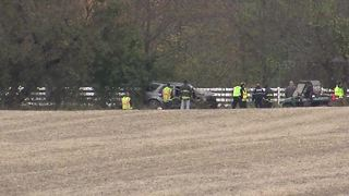 Missing man found in crashed car in Boone County - Video