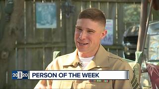 Detroit 2020 Person of the Week: Dearborn Heights' Marine returns home to serve - Video
