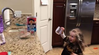 Cutest Kitchen Helper - Video