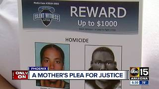 Mother takes action to find her son's killer in Phoenix - Video