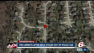 Greenfield officer's rifle stolen from patrol vehicle, 2 suspects arrested - Video