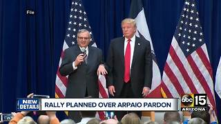 Joe Arpaio thanks Donald Trump for support, comments