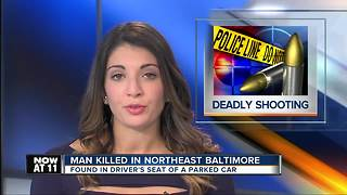 33-year-old man shot to death in parked car - Video