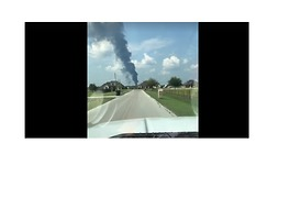 Smoke Billows From Arkema Plant After Controlled Explosion - Video
