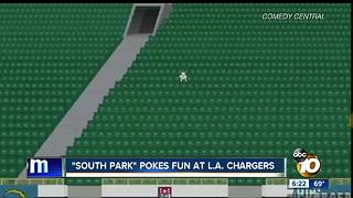"""""""South Park"""" pokes fun at Los Angeles Chargers"""