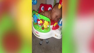 """Funny Sleep Jumping Toddler"""