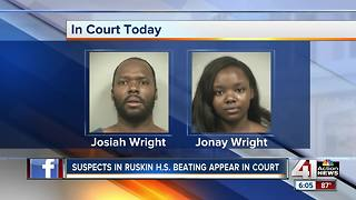 Suspects in Ruskin High School beating appear in court - Video
