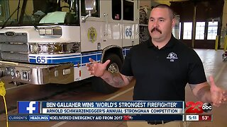 World's strongest firefighters