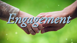 Engagement Greeting Card 2 - Video