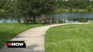 Gator attack leaves dog badly injured - Video
