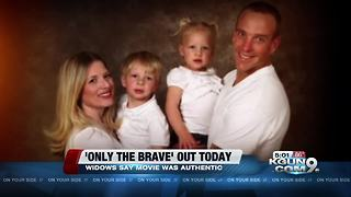 Widows of Granite Mountain Hotshots react to 'Only the Brave' - Video