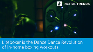 Liteboxer is the Dance Dance Revolution of in-home boxing workouts.