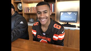 Browns fan's dream comes true on Sunday