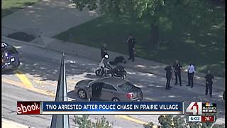 Police chase suspects after officer struck