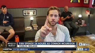Las Vegas resident spends '24 Hours as Conor McGregor in Ireland' - Video