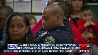 Harris Elementary School celebrates Black History Month - Video