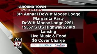 Around Town 7/27/17: Moose Lodge Margarita Party - Video