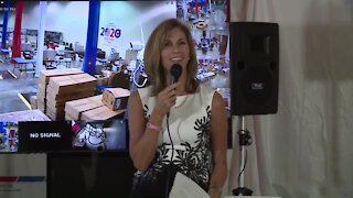 Palm Beach County Supervisor of Elections talks about President Trump voting