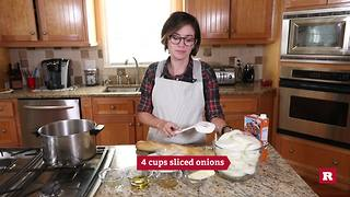 French onion soup with Elissa the Mom | Rare Life - Video