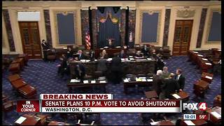 Government shut down looms