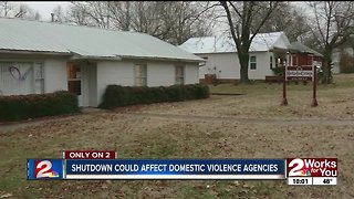 Fed shutdown could affect domestic violence shelters
