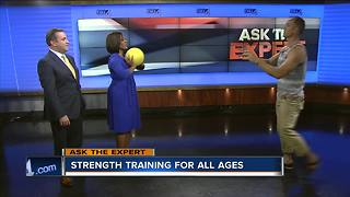 Ask the Expert: Strength training - Video