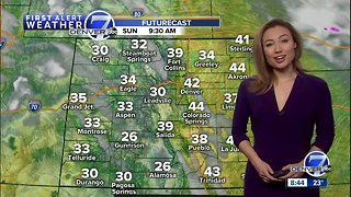 Mostly sunny and milder this weekend in Denver