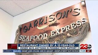 Local restaurant owned by a 13-year-old