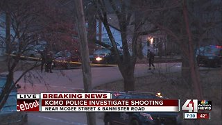 1 in critical condition after shooting on McGee in KCMO