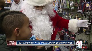 Boys and Girls Club takes children on shopping spree