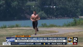 CODE RED: Dangerous heat expected for Artscape weekend - Video