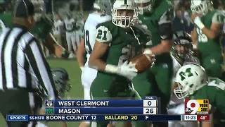 Mason 26, West Clermont 0 - Video