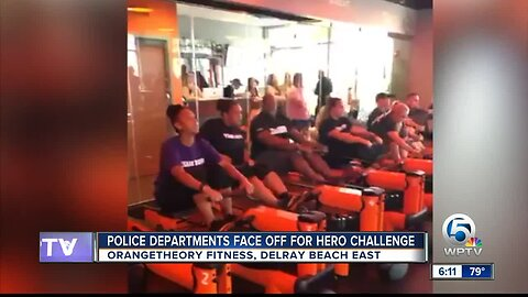 Police departments face off for hero challenge near Delray Beach