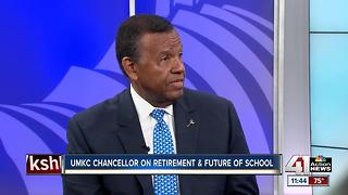 UMKC chancellor speaks about retirement & future of school