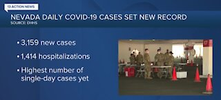 COVID-19 update for Nevada on Nov. 25